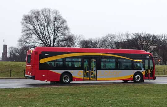 Circulator bus in Washington, D.C.