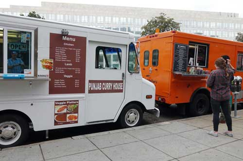 food trucks near the Washington National Mall
