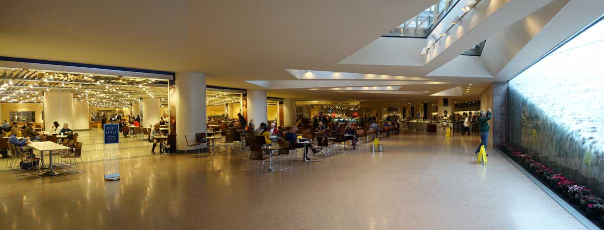 National Gallery of Art cafeteria, Washington, D.C.