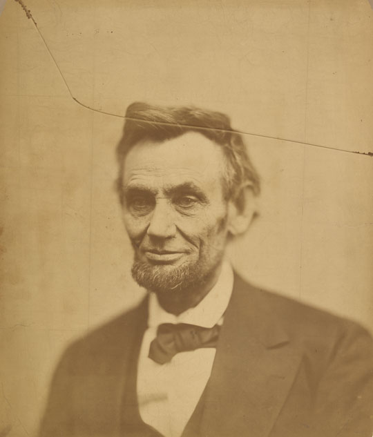 Abraham Lincoln by Gardner