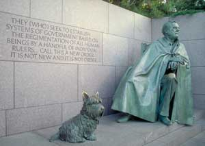 FDR Memorial in Washington, D.C.