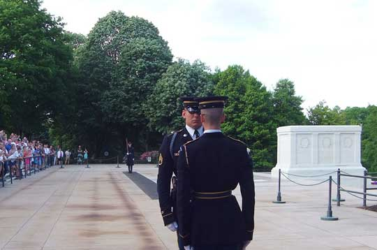 Tomb of the Unknown Soldier, Arlington Cemetery