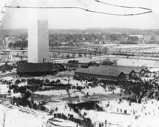 Dedication of the Washington Monument